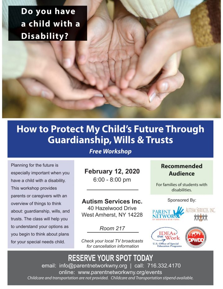 Guardianships, Wills and Trusts