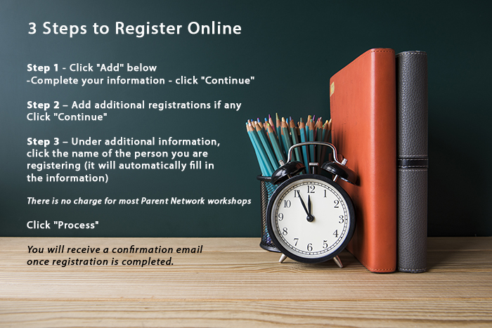 3 Steps to register online