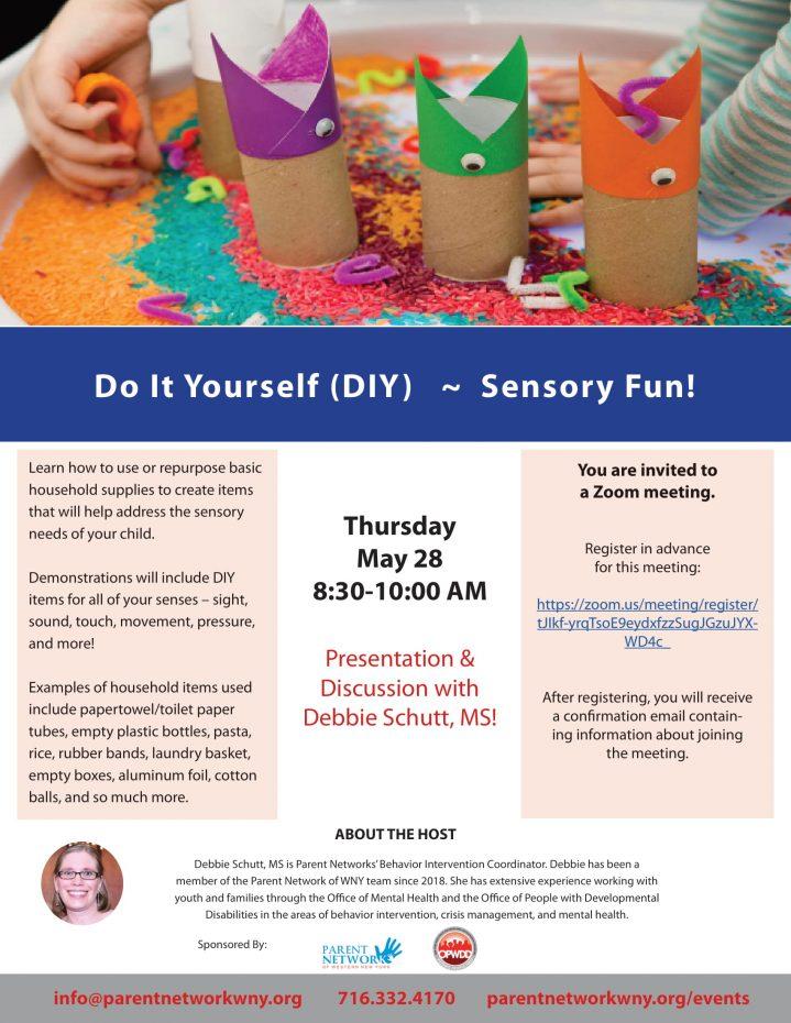 sensory diy flyer