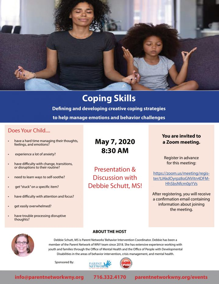 coping skills flyer