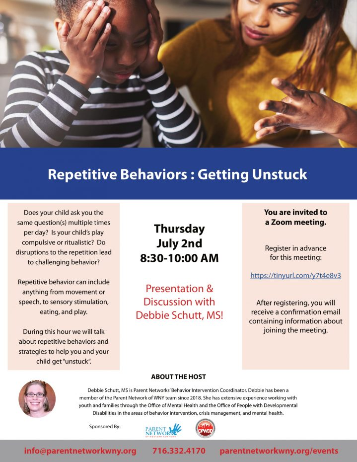 repetitive behaviors