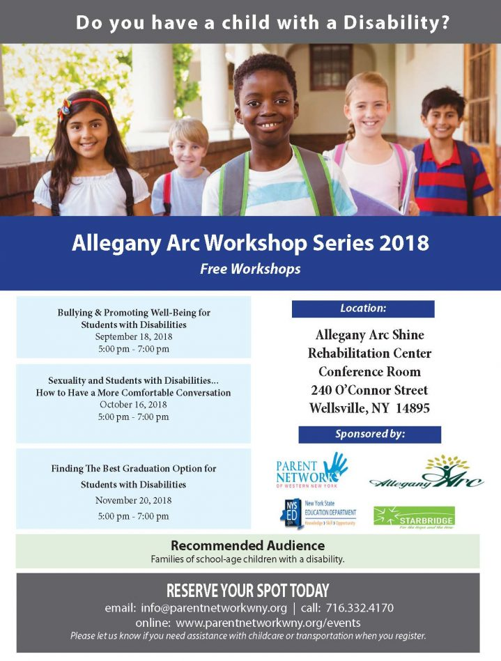 Allegany Arc Series flyer