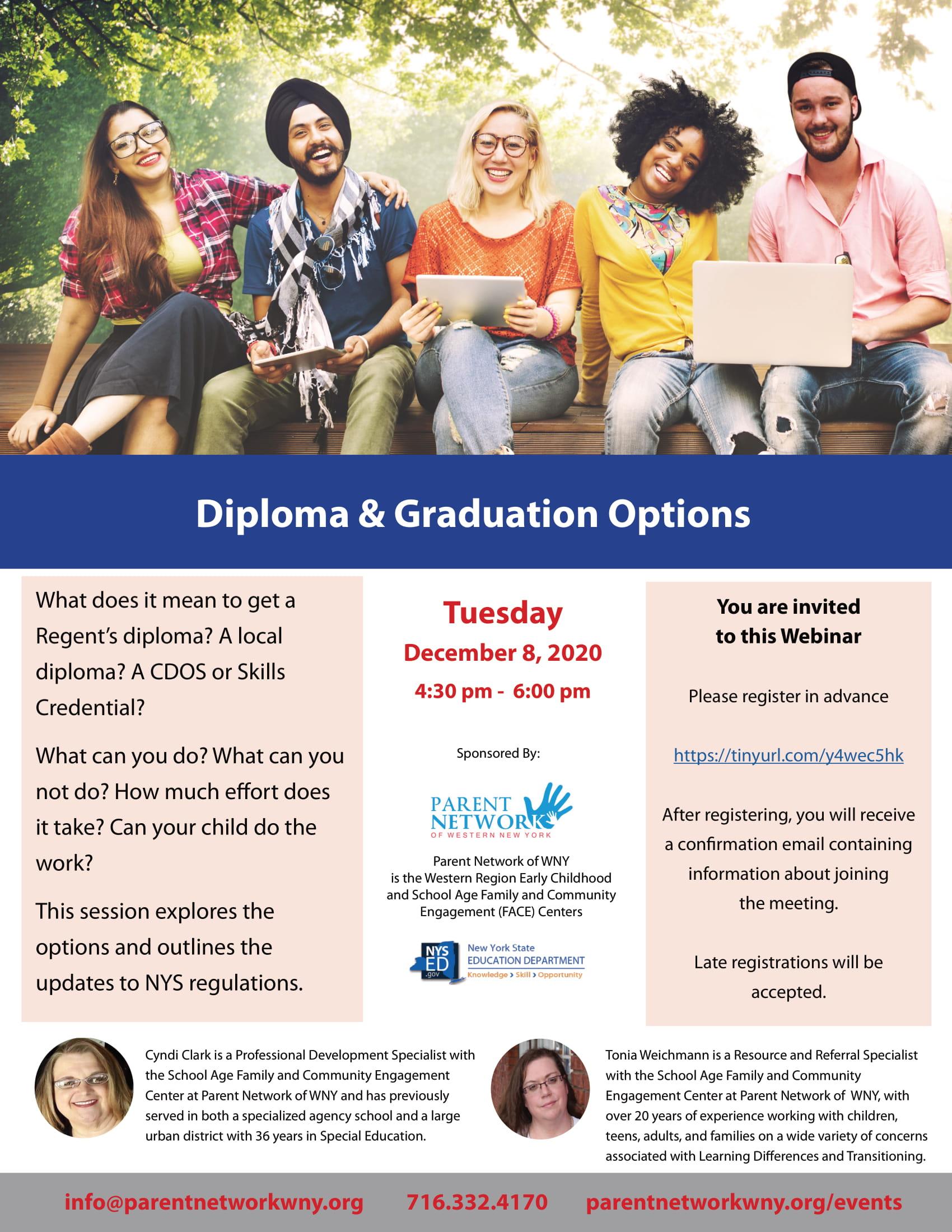 grad options