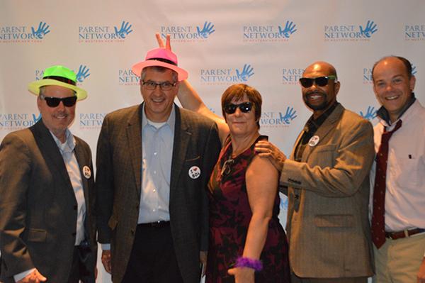 board members at gala