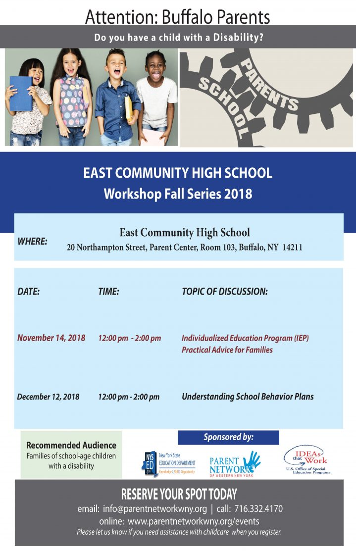 east high school flyer