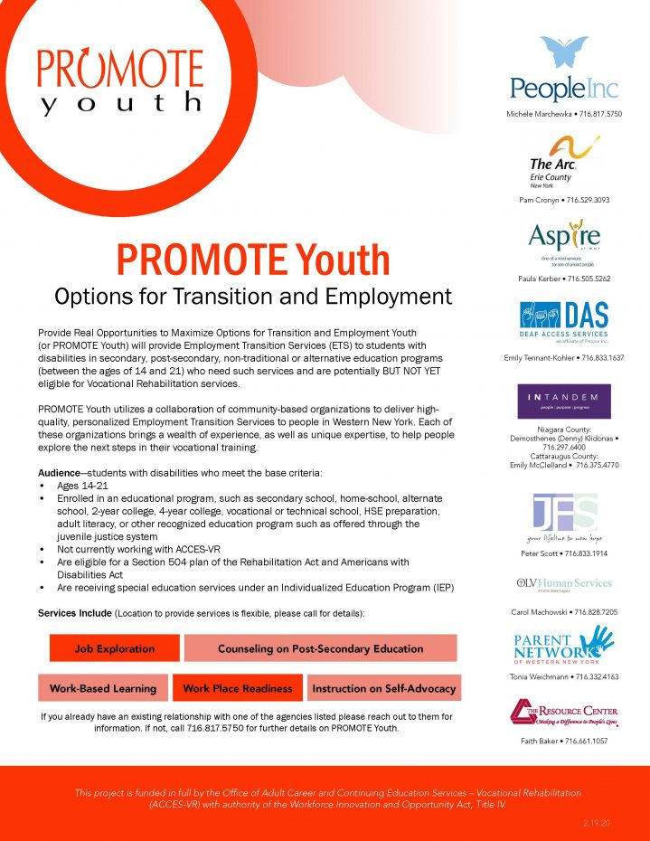 Promote Youth pg 1