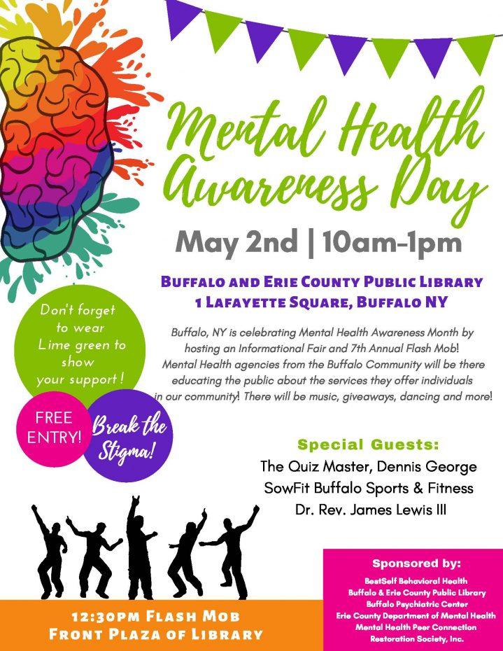 mental health awareness flyer
