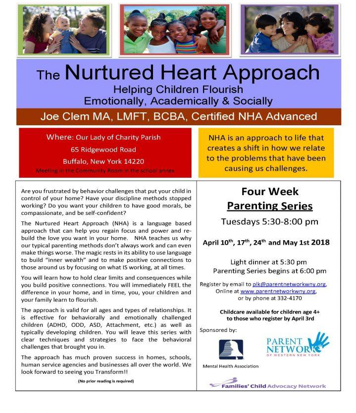 Nurtured Heart Series Flyer
