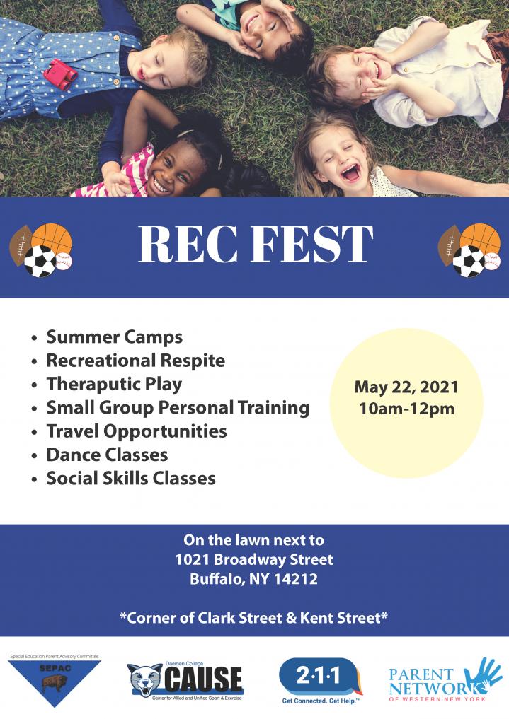 Rec Fest Flyer