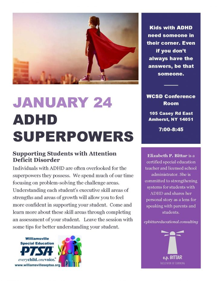 adhd superpowers flyer
