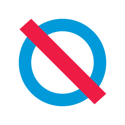 no bullying symbol