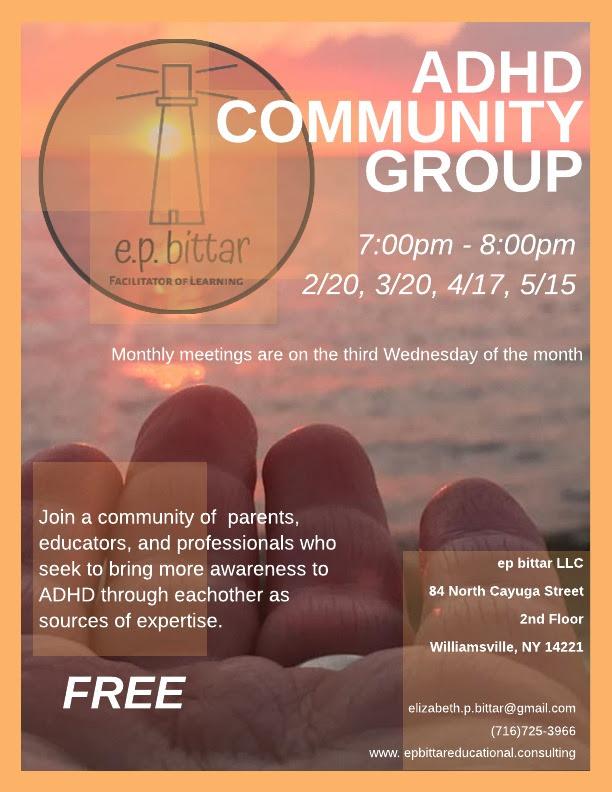 adhd community flyer